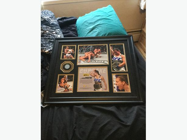 UFC autograph plaque mma fighting miesha Tate