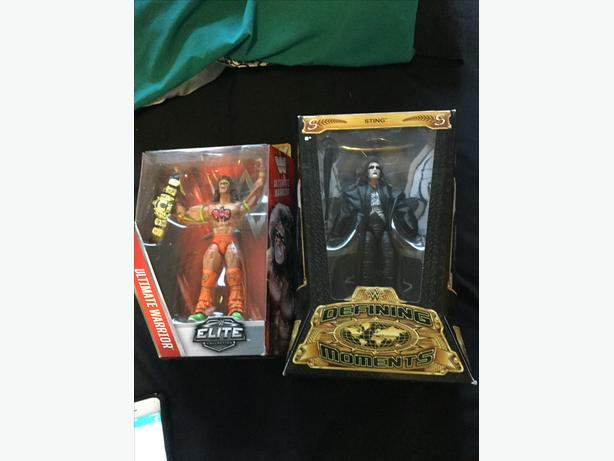 Wwe wwf wrestling figures sealed