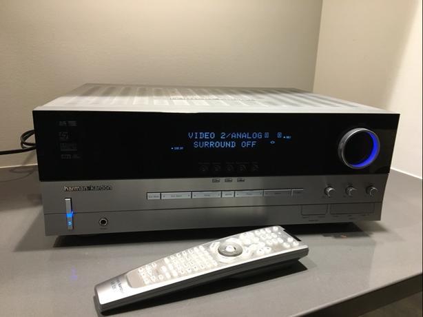 Harmon/Kardon Audio/Visual Receiver AVR 135