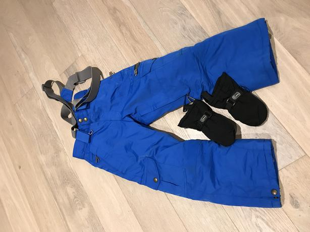like new snow pants and gloves