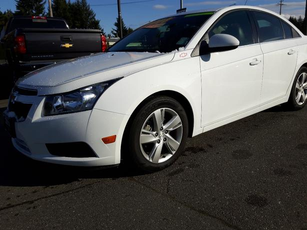 USED 2014 CHEVROLET CRUZE DIESEL LT FOR SALE IN PARKSVILLE