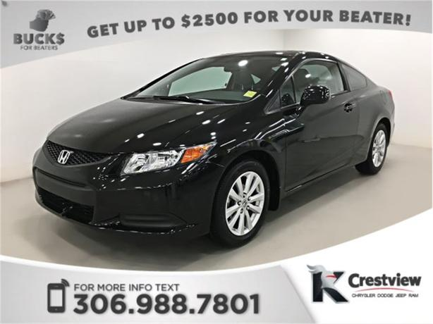 2012 Honda Civic Coupe EX-L | Leather | Sunroof | Navigation