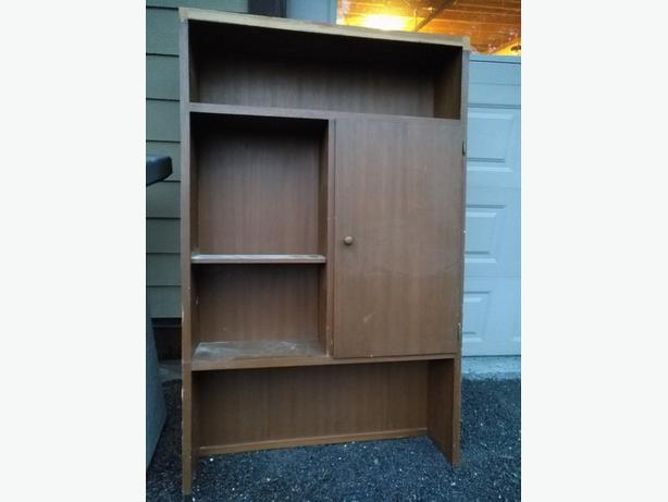 FREE: Two large wood shelving units