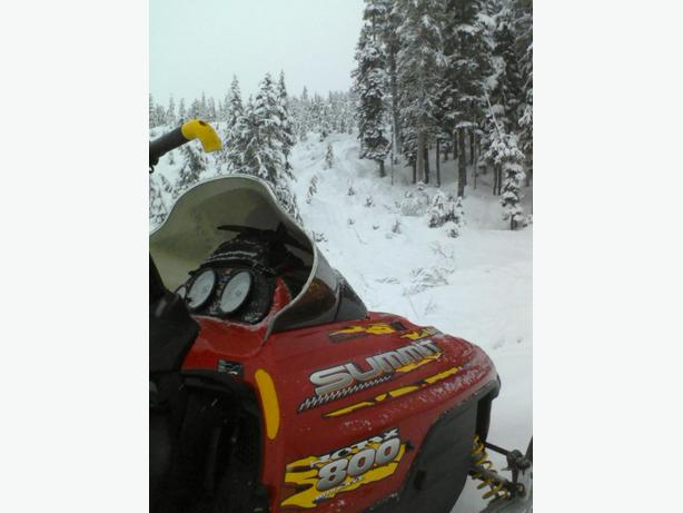 2001 Skidoo Summit X 800