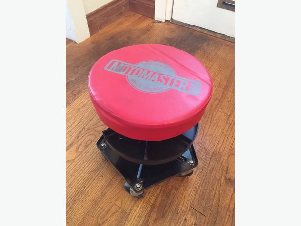 mechanic work stool