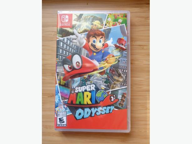 Super Mario Odyssey **SEALED**