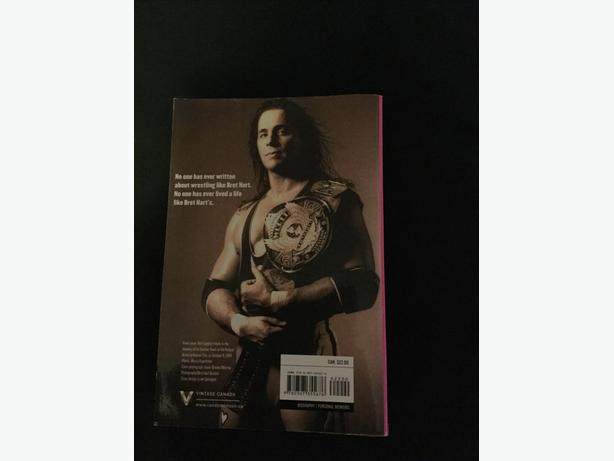 Wwe Bret hart wrestling wwf book