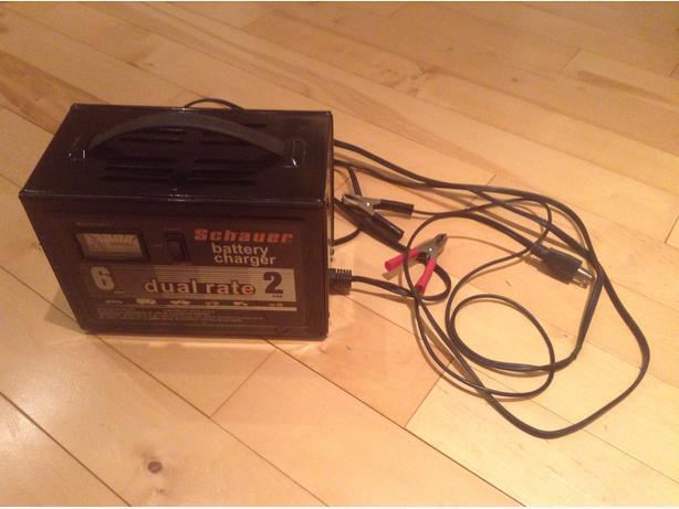 Schauer Dual Rate Battery Charger