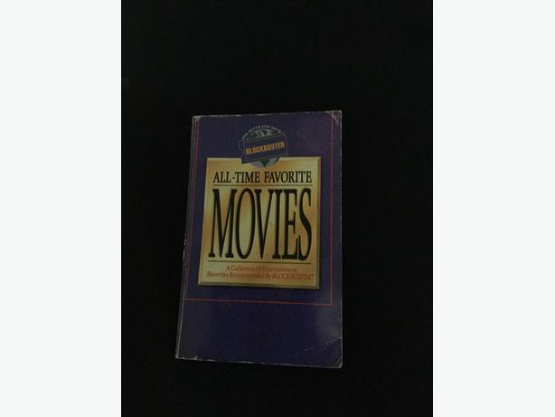 Blockbuster video movies vhs DVD book