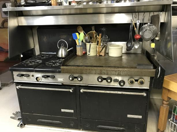 Garland Commercial Propane Stove - older