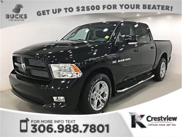 2012 Ram 1500 Sport Crew Cab | Navigation | Remote Start