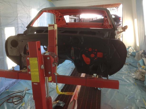 Car Restoration Rotisserie