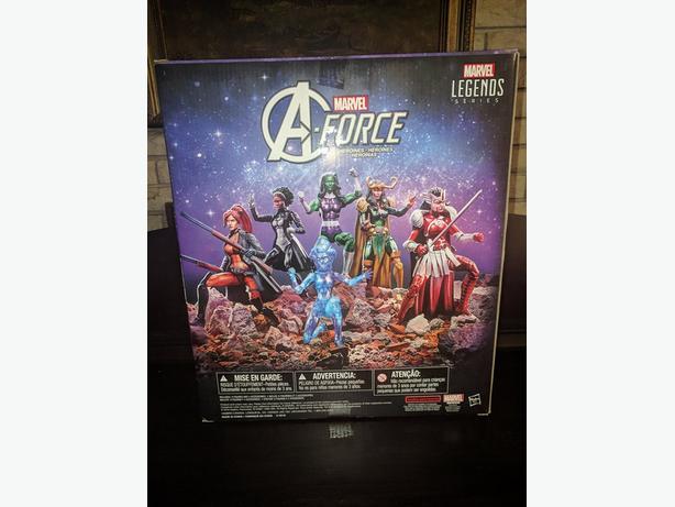 Rare Collectors Marvel Legends A-Force Heroines Set NEW