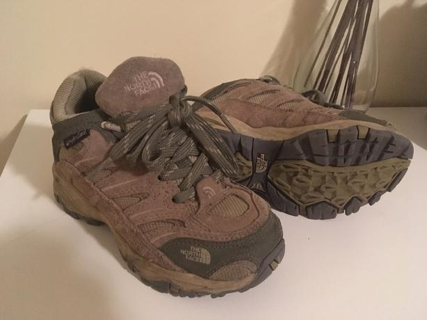 North Face kids size 10 hiking boots