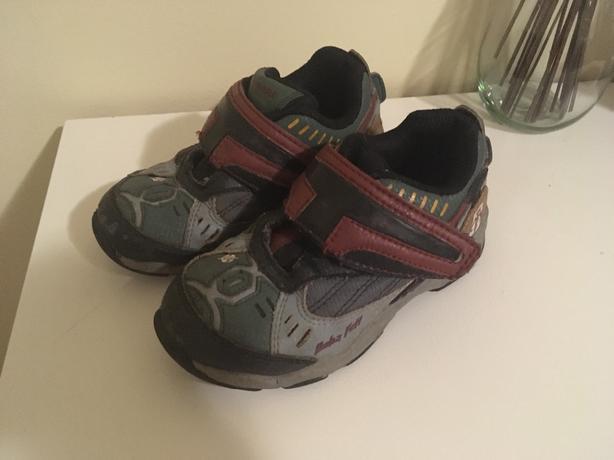 Stride rite bobba fett size 9 light ups shoes