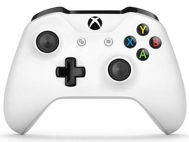White Xbox one s controller for sale