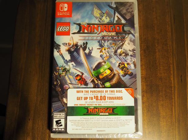 Ninijago The Movie Video Game - Nintendo Switch