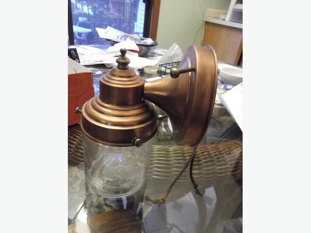 Vintage Copper light
