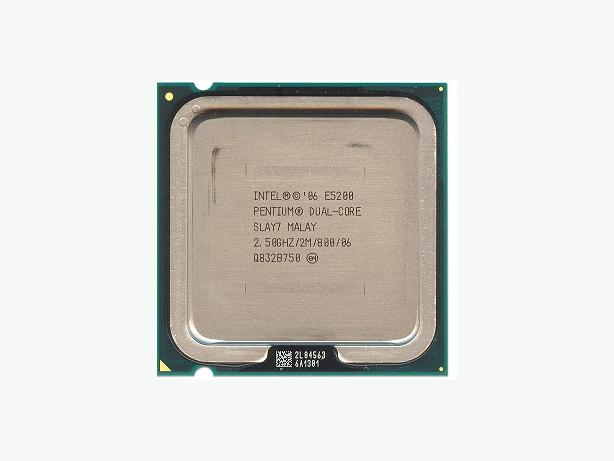 Intel Dual Core CPU E5200 2.5 Ghz Socket 775