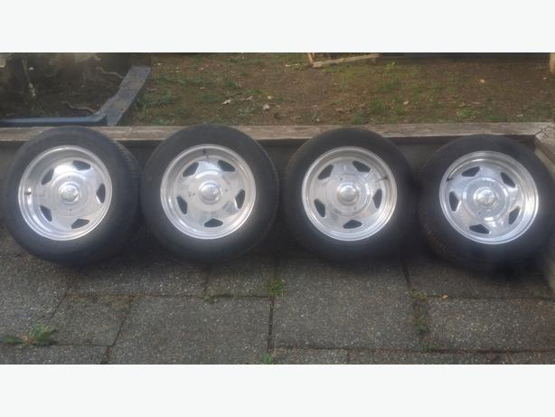Set of Centerline Wheels for Foxbody Mustang