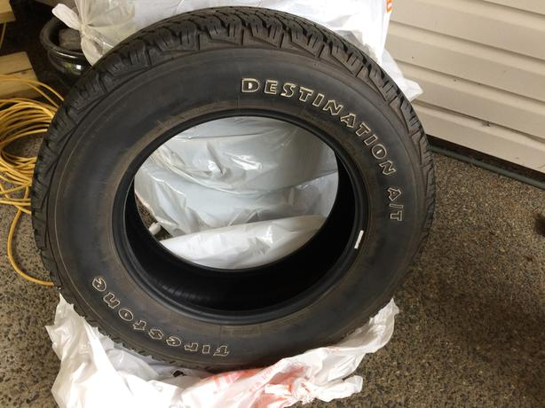 Set of 4 Firestone Destination Tires