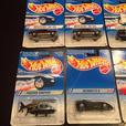 Hot Wheels 1994 & 1995 Lot Of 10 Cars Tall & Short Cards Intl Canada Vintage Lot