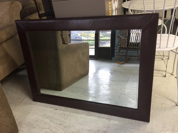 Modern accent mirror