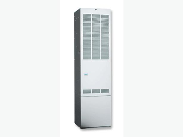 New NORDYNE 45,000 BTU Model M7R1045 Hi-efficiency natural gas furnace.