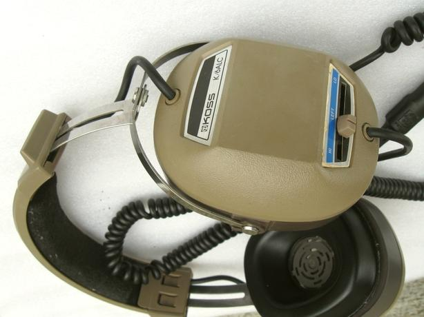 Koss k/6alc headphones