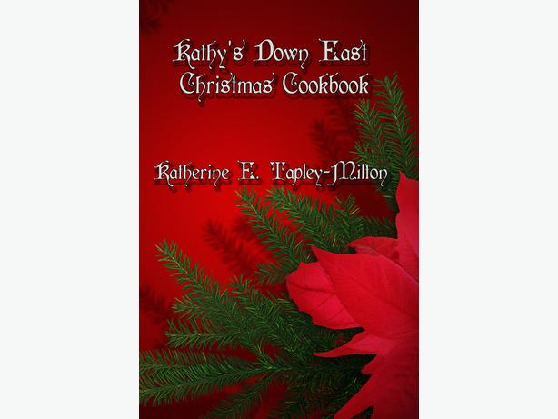 Kathy's Down East Christmas Cookbook Paperback or Ebook