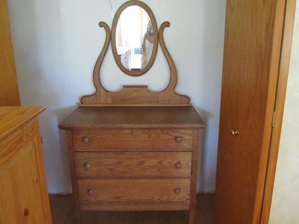oak Canadiana dresser