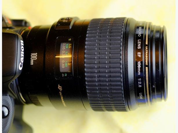 Canon EF 100mm 2.8 Macro USM - Mint