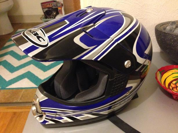 KBC Dirt Bike Helmet