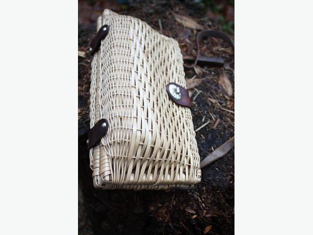 OLD TIME VINTAGE WICKER BAG/PURSE $15