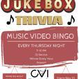 Music Video Bingo at CVI on Thursday Nights!!!