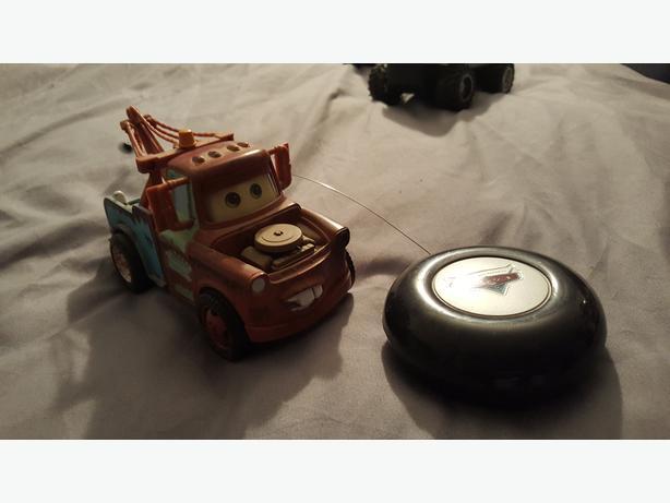 Mater RC car