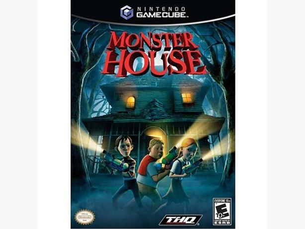 Monster House Game for Nintendo Gamecube