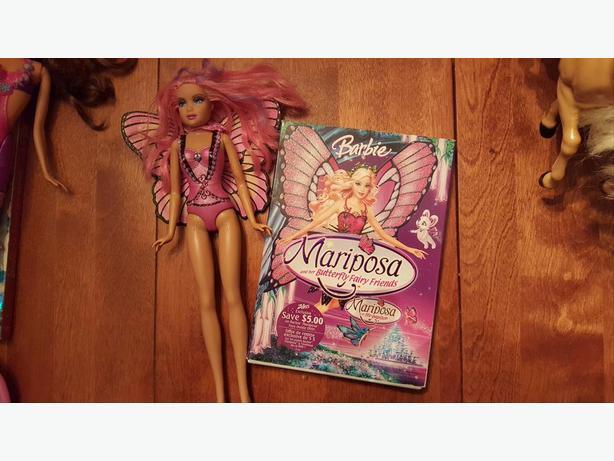 Barbie Mariposa Pkg