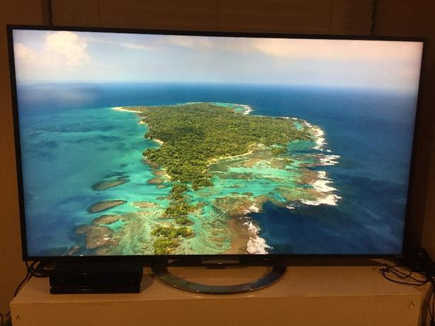 "Sony Bravia 55"" LED 240Hz 3D 1080p TV"