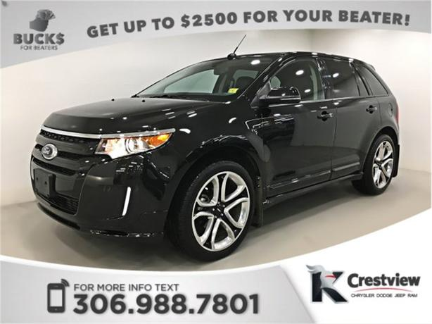 2013 Ford Edge Sport AWD   Leather   Sunroof   Navigation   DVD