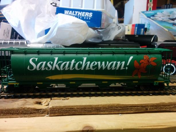 HO scale CN NARC Saskatchewan car