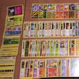 Over 300 Pokemon cards in excellent condition.