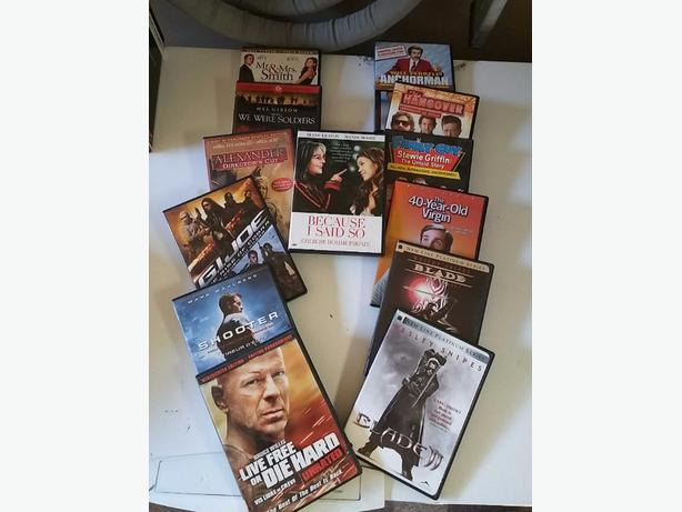 4 for $1.  Clearance sale on DVDs !