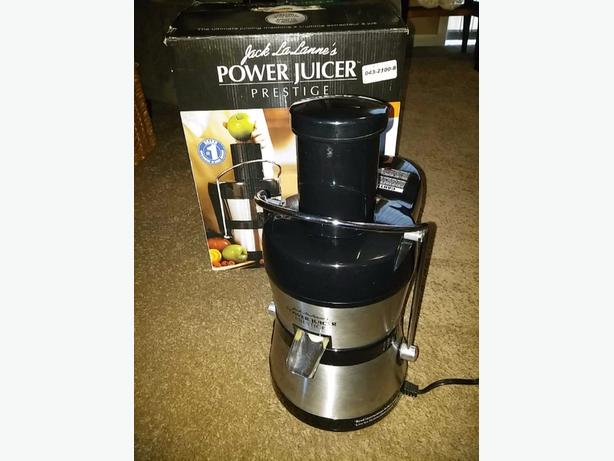 JACK LALANNE'S POWER JUICER PRESTIGE