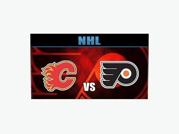 CALGARY FLAMES VS. PHILADELPHIA FLYERS