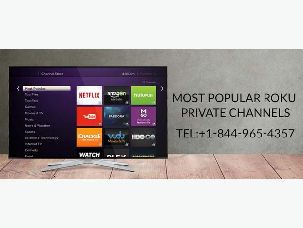 Enjoy most popular Roku Private Channels