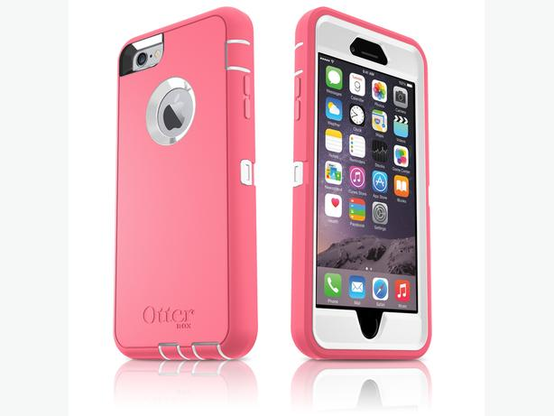 Iphone 6/6s Otterbox Pink Defender Case - Like New Condition