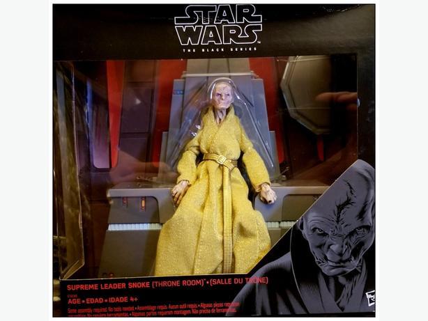supreme leader Snoke BLACK SERIES