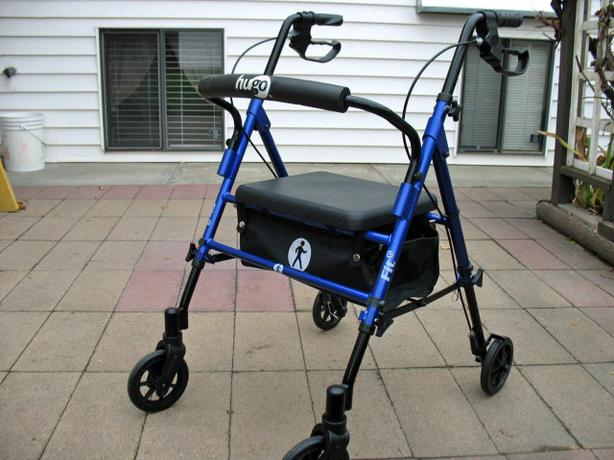 HUGO MULTI FIT 6 ROLLATOR WALKER FOR SALE