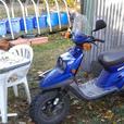 2002 Yamaha bws 50cc